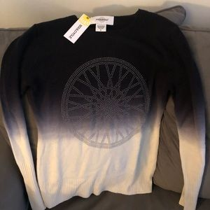 NWT SoulCycle Cashmere Pullover Sweater Size Small